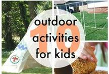 OUTDOOR ACTIVITIES / Fun outdoor activities for kids!