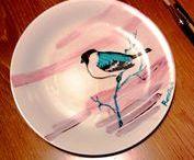 Ceramiche decorate Il Malamizio / Ceramica dipinta a mano da Rossella V. (Roke)  // Cerca su facebook: Il Malamizio // www.facebook.com/ilmalamizio // www.ilmalamizio.deviantart.com