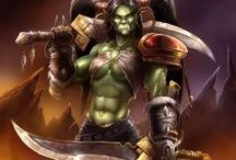 Orc & Troll Ladies