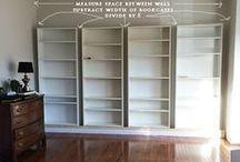 Muebles con estanterías Billy de Ikea