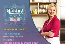 Canada's Baking and Sweets Show / Canada's Baking and Sweets Show is taking place on 28 September – 30 September, 2012. Come and see famous chefs such as Anna Olson and SugarStars and mingle with others who love baking! A three day pass to the show is only $30! As title sponsors for the show, Granite Transformations is looking forward to seeing you there!