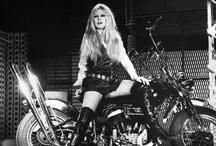 Celebrities on Motorcyle / Motosikletli Ünlüler