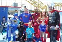 Superhero Cruise! / Calling all of Pittsburgh's finest Superheroes to the Gateway Clipper Fleet! All of our favorite comic book and blockbuster superstars took a break from saving the world to hang out with us and have a DJ Dance Party!