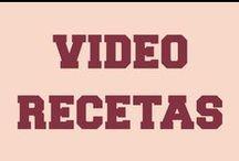 Postres - Vídeo Recetas / Vídeorecetas con los pasos a pasos de muchos postres fáciles y originales