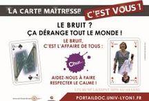 Libqual / Campagnes de de communication de l'enquête Libqual dans les BU de Lyon 1