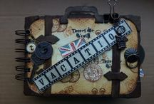 Travel mini album / by Sandy Shabby Scrap