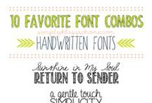 Fabulous Fonts / by Freebird Collective