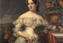 1830's fashion / I love 1830's gowns! The gigot sleeves are fantastic. But I hate most of 1830's hairstyles.