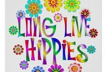 KEEP CALM,AND HIPPIE ON.