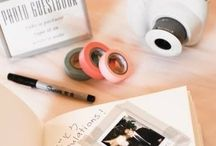 Wedding... Guestbook / Fun and alternative ideas for your wedding guestbook