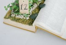 Wedding... Table Centrepieces / Beautiful ideas for wedding tables