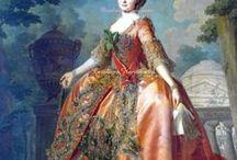 18th century robe de cour