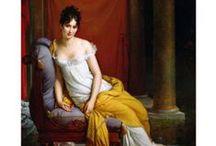 Fashion of les merveilleuses - France, 1794-1799