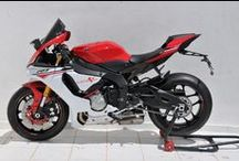 Yamaha YZF R1 2015/2016 by Ermax Design / Accessories, Aeromax screen, front light cover, licence plate support, exhaust