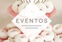 Eventos / Dicas de decoração, comidinhas e mimos para você soltar a criatividade e conquistar clientes em seus eventos.