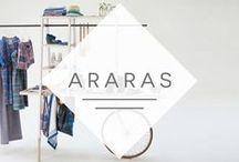 Araras e Expositores / Faz tempo que as araras deixaram de ser um simples objeto para pendurar roupas. Elas ganharam forma, cor, estilo e muita personalidade. Inspire-se e otimize o jeito que você expões os produtos da sua loja.