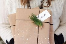 DIY... Christmas Wrap / DIY Christmas wrapping