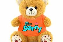 Cute ways to say sorry with gifts / No one can stay upset with a gift waiting to be unwrapped in their hand. A few ideas from here and there and viola! You're back to laughter and giggles.