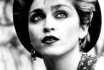 B&W portraits: Madonna / BLACK & WHITE PHOTOGRAPHY: simply...Madonna