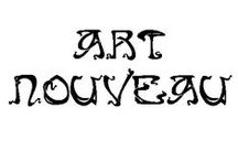 Graphic Design: ART NOUVEAU / A COMPILATION of prints, posters, magazine covers, designs... all in Art Nouveau Style