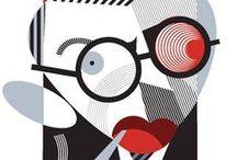 Art by Pablo Lobato / ILLUSTRATORS & GRAPHIC DESIGNERS: the artwork of Pablo Lobato, best know by his celeb's caricatures