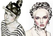 ILLUSTRATION & PORTRAITS / ILLUSTRATION: a compilation of the artwork of my favourite portraits illustrators