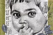 Art by Stéphanie Ledoux / COLLAGE & MIXED MEDIA: the artwork of Stéphanie Ledoux