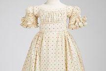 1820's children's clothing
