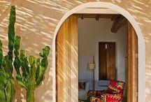 Mediterranean Style / Santorini, Ibiza, Formentera, Marrakech... White houses, idilic places with all the mediterranean flavor