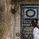 Winter Wedding Photography Waterton Park Hotel Wakefield / winter wedding photography, snow wedding photography, vintage wedding bride and groom photography, snow machine, waterton park hotel wakefield wedding photographers female wedding photographer