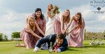 Fun and Silly Wedding Photography Ideas / bride and groom fun photographs silly jumping bridal party motorbikes superman red telephone box drunken bridal party wedding photography ideas  fs imaging wakefield female wedding photographer