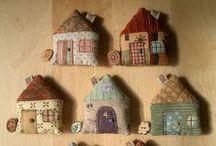 Maisons & Nichoirs en tissu