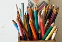 Couleurs & crayons de couleur