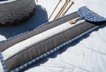 Rangements pour aiguilles (crochet & tricot)