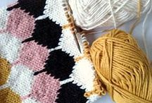 Knitting - Tricot / DIY