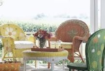 Painted chairs, stools, etc. / by Barbara Matson