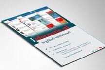 Advertenties / Verschillende ontworpen advertentiecampagnes door uNiek-Design