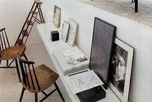 Work space / Lo studio è la nostra fabbrica personale di idee.