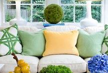 Spring Inspiration / Prepare to be inspired by our unique home decor ideas and window coverings.