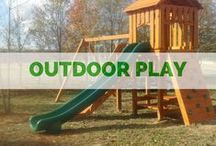 OUTDOORS :: Playsets / Our Outdoor play-sets, perfect for your backyard! We also do custom designs.