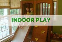 INSIDE :: Playsets / Our indoor play-sets are perfect for those rainy days! We also offer custom designs to fit your space! Take a look!