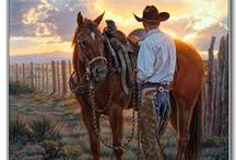 Many Men: the American Cowboys Saga / American history and Historic films of the cowboys. / by King Oso I King William