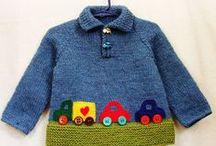 Вязанная одежда деткам и не только
