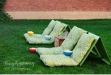 BACKYARD :: Parties / Fun ideas to help you plan your next backyard or outdoor party!