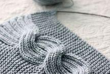 Узоры для вязания, технология вязаннных изделий