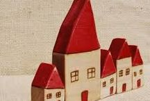 Декор-объект: домики