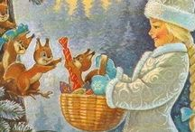 Праздничный декор открытки