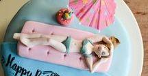 Cake Topper Design / Handmade 3D cake toppers Cake design ideas Birthday cakes
