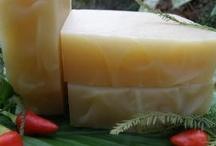 Handmade Herbal Soap / Some of my natural herbal handmade soaps.