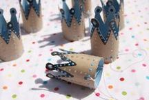 Paper Roll Crafts / Arts and crafts from paper towel rolls & toilet paper rolls. Reduce, reuse, repurpose, recycle.